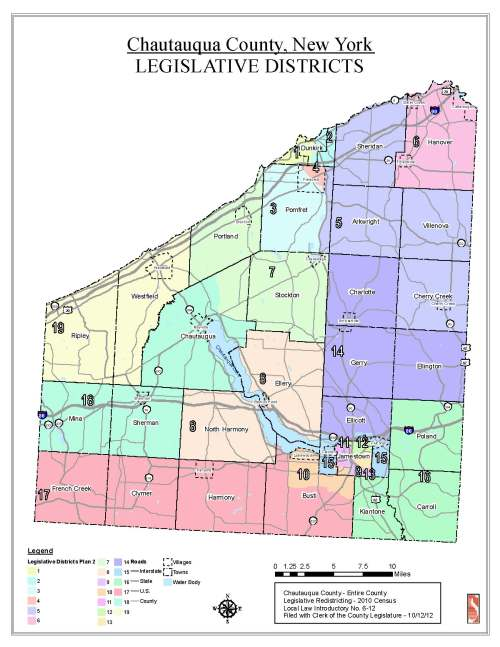 2013 New County Leg districts map